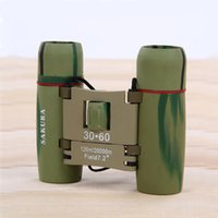 Wholesale Hot Sale x60 Pocket Zoom Optical Binoculars Telescope Day and Low Light Night Vision Telescope Factory Direct Sale