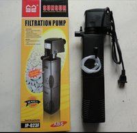 Wholesale Sunsun W L h Aquarium Submersible Filter FishTank Internal Filter Water Pump Filter Filtration Pump JP F