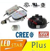 ac nickel - DLC UL Retrofit Kits Led Light E40 E39 E27 E26 W W W W LED Street Lights CREE Chip MeanWell Driver AC V