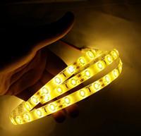 Wholesale New LED Strip Light Non waterproof LED Flexible Light Strip V LED Color SMD Feet Meter Christmas Light