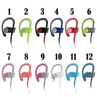 Wholesale Cheap Power beats Wireless headphone Beats used stereo Bluetooth Headsets Sport Earphones With Box DHL Drop Shipping