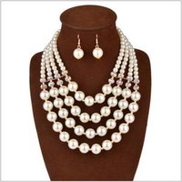 Wholesale 2016 western style women long necklaces earrings bridal Jewelry Sets Bridal jewelry set Set