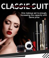 Wholesale Hot Sale Perfect MakeUp Sets Lasting Lipuid Lip Gloss Lengthening Mascara Waterproof LipLiner Pencil Makeup Sets
