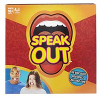 Wholesale 2016 New Family Party Speak Out Game Hot Family Catch Phrase Board Game Interesting KTV Toys Games