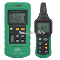Wholesale Mastech MS6818 Portable Professional Wire Cable Tracker Metal Pipe Locator Detector Tester Line Tracker Voltage12 V