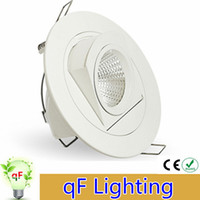 Wholesale Dimmable High Power led downlight W adjustable COB LED Panel Lights Trunk downlight AC85 V lighting lamp