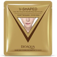 Wholesale Moisture Cosmetics V Face Mask Whitening Shrink Pores Facial Skin Care