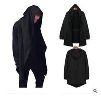 Wholesale 2016 Korean Spring And Autumn Mens Hooded Sweaters Sweater For Men Cardigan Coat Cape Cloak Coat