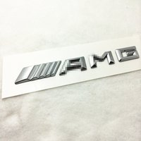 amg siding - 3D NEW High quality ABS AMG SLKGLSL C200S C63 s500 GE class refit shark gills side decorative stickers