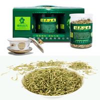 al por mayor té de la madreselva-Prima la madreselva té chino 50g de calor de equilibrio del té de la salud ecológica desintoxicante té verde Jinyinhua flor herbario libre de azufre 1 Caja