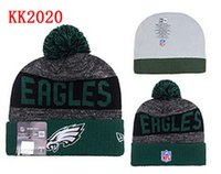american philadelphia - Philadelphia Beanies Winter High Quality Beanie For Men Eagles beanie American Football Women Skull Caps Skullies Knit Cotton Hats