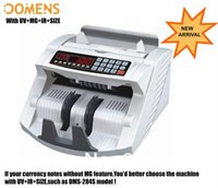 Wholesale good Banknote Multi Currency Bill Money Counter DMS T UV MG IR SIZE Cash Counting Machine