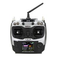 Radiolink AT9 Transmisor Receptor 9 Canal 2.4Ghz RC Control Remoto para DIY FPV Drone RC Hobby Helicóptero Avión Planeador