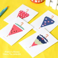 Wholesale Styles Creative Umbrella Folding D Modeling Color Valentine s Greeting Cards Birthday Cards Holiday Cards