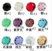 Wholesale mm mm mm swarovski crystal Bicone Beads U Pick color DHL