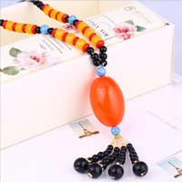 Wholesale Foreign trade hot style deserve to act the role of the European and American gemstone pendant necklace pendant ethical wind bodhi necklace b