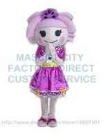 beautiful carnival - the beautiful lalaloopsy girl mascot costume adult size high quality hot cartoon character mascotter carnival fancy dress