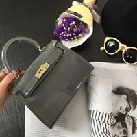 Wholesale High Qualit Jelly colors Handbags New Fashion Style Bags candy Small bags Summer PVC bags Women Shoulder Bag