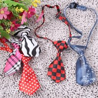 adjustable bow tie pattern - New Arrival Adjustable Dog Cat Pet Lovely Adorable sweetie Grooming Tie Necktie Wear pattern WA0806