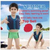 baby swim equipment - Children swimsuit buoyancy foam buoyancy vest vest vest baby help men and women learn to swim swimming equipment