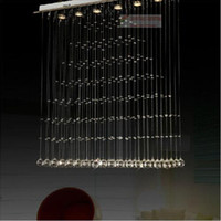 Wholesale Discount fashion crystal lamps restaurant lamp chandelier bar lamp LED lighting K9 crystal lamp explosion models Direct