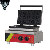 Wholesale Stainless steel high quality electric V manul snack equipment donut making machine with holes