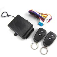 lock auto security - Car alarm system Remote Central security Kit Door Lock Vehicle Keyless Entry System for Toyota CAL_100