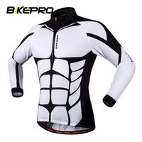 Wholesale Tour de France Bicycle Cycling Running Jersey Men Riding Breathable Jacket Clothing Bike Long Sleeve Shirt Windproof Jersey