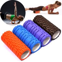 Wholesale Hot sell Colors Eco friendly Yoga Foam roller for Yoga pilates training fitness rollers with trigger points