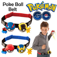 belt styles - Zorn toys Poke go Pokémon Clip N Carry Poke Ball Belt plastic poke ball action figure doll Pikachu Style random