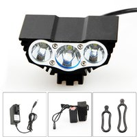 Wholesale Bike x CREE XM L T6 LED Head Front Bicycle HeadLight Lamp Light Headlamp with Battery and Charger