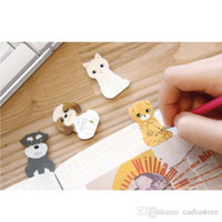 Wholesale 1pc Cute Kitty House Funny Sticker Post Bookmark Mark Tab Memo Sticky Notes E00407