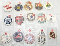 Wholesale famous Europe football club teams fan party LOGO car room office home house air freshener custom design air fresheners