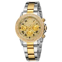band fashion clothes - top relogio luxury stainless steel band Women s Clothing Watches men s watches rhinestone case and dial men s sports fashion Girl Watches