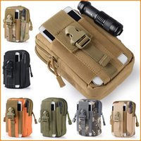 Wholesale Outdoor Tactical Waist Pack Bags Sport Casual Pouch Purse Phone Case for Iphone SAMSUNG