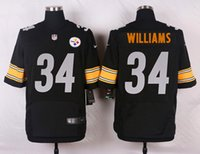 arrival williams - 2016 New Arrivals Men Steelers Black Williams Elite Stitched Jerseys Free Drop Shipping lymmia Mix order