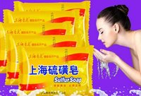 Wholesale Shanghai sulfur soap mites in addition to five mounted bath soap to wash the mites acne soap medicated soap