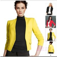 Wholesale Blazer women the colorful female blazer and blazer feminino for women outdoor jacket YS8002