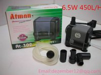 Wholesale Silent Atman AT W L H Aquarium Poweheader Submersible Pump Fish Tank Water Pump Liquid Filter Various Outlet Connectors