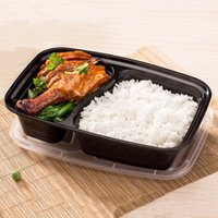 Wholesale New Ml Disposable Lunch Boxes Food Container Snack Packing Boxes Microwaveable PP Lunch Box Food Box JH0052