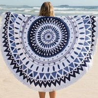 Wholesale 2016 pieces Hippie Round Mandala Tapestry Indian Wall Hanging Beach Throw Towel Yoga Mat