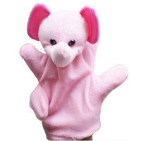 best zoos - Best seller Cute Big Size Animal Glove Puppet Hand Dolls Plush Toy Baby Child Zoo Farm Animal Hand Glove Plush Toy Jan8