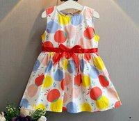 apple dies - Die neue mädchen im sommer han ausgabe farbe apple bowknot ist Ein wort rock kleid sommerkleid