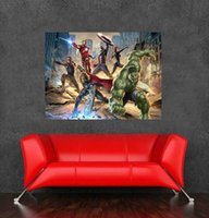 Wholesale 2015 hot the avengers wall sticker poster for living room decor of size x60cm31 x24inch