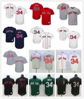 baseball flags - Boston Red Sox David Ortiz Navy Blue Usa Flag Gray Red Black White Fashion Stars Green Stitched Majestic MLB Baseball Jerseys for Sale