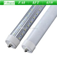 Wholesale 8FT V Shaped Single Pin FA8 T8 T10 T12 LED Tube Light Feet LED Tubes Angle Lighting LED Daylight Lamps AC V