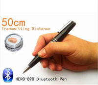 Wholesale Metal Bluetooth Pen With a680 spy Earpiece cm Long Transmitting Distance Can Work during Writing