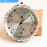 Wholesale 20Pcs High Quality HT9100 CM Indoor Outdoor Thermometer Hygrometer Temperature Meter New Arrival