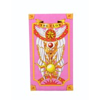 Wholesale Japan Anime Cardcaptor Sakura cards the clow card Captor Sakura Magic Cards children toys Cosplay Playing Game Prop Cards