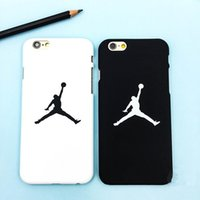 Wholesale New Fashion Colors Cell Phones Hard Scrub Cases for iPhone s Plus iPhone plusCartoon Logo Printed